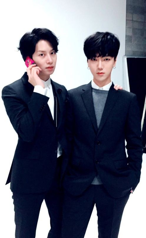 I mean with these black suits, i can already flip myself and scream in happiness  #HappyYesungDay #온_세상이_예성으로_물들어<br>http://pic.twitter.com/emhK9XrTLt