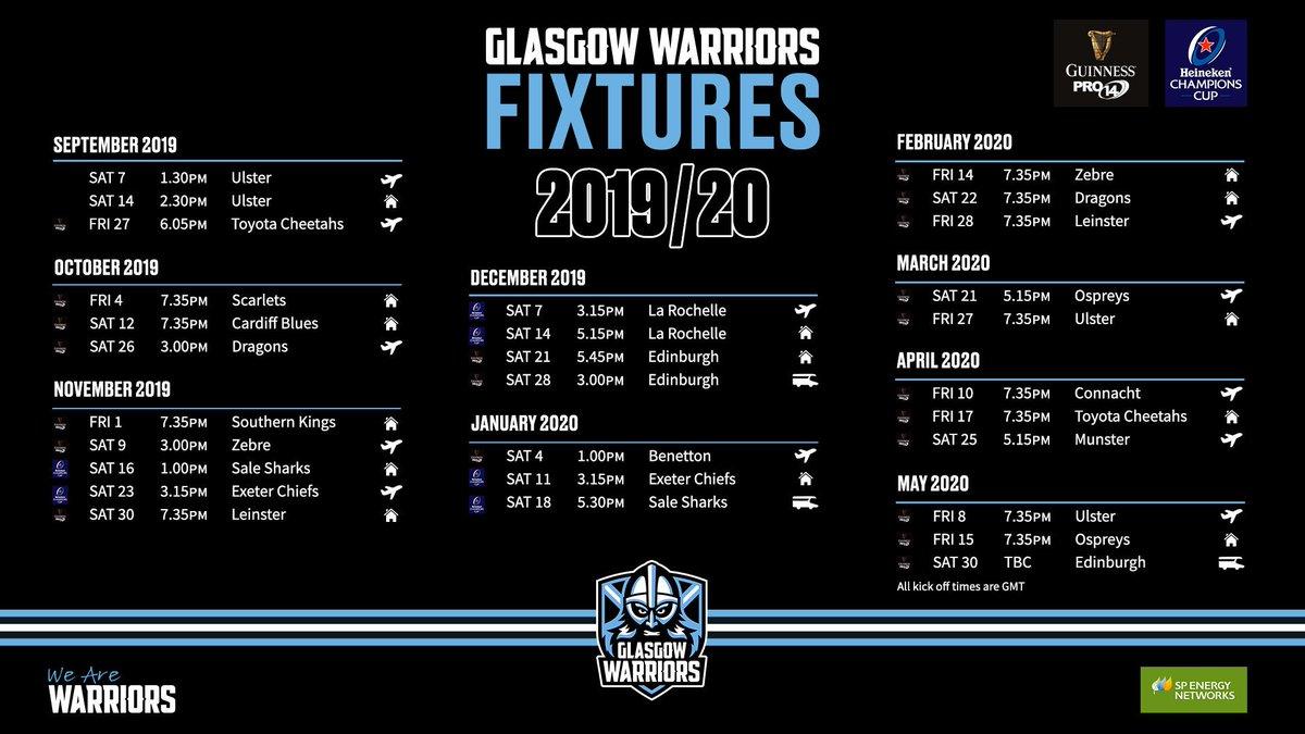 Glasgow Warriors @GlasgowWarriors