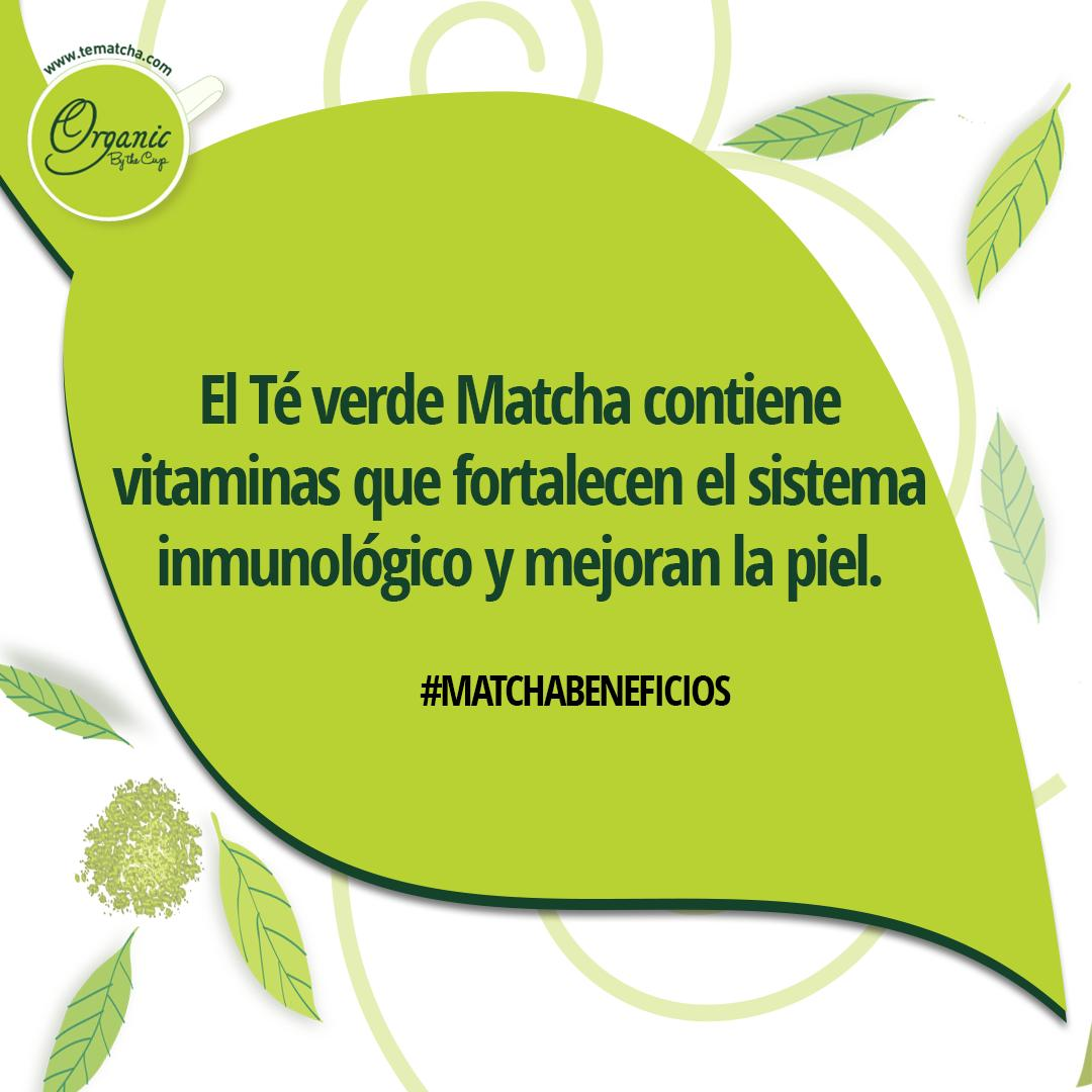 #MatchaBeneficios  ¿Sabías qué..? 🌿 Té verde Matcha #OrganicByTheCup contiene vitaminas 👇    #TeMatcha #TeVerde #GreenTea #Japones #Importado #MatchaLovers #MatchaMexico #MatchaFrappe #TeVerdeMatcha #Organico #Natural