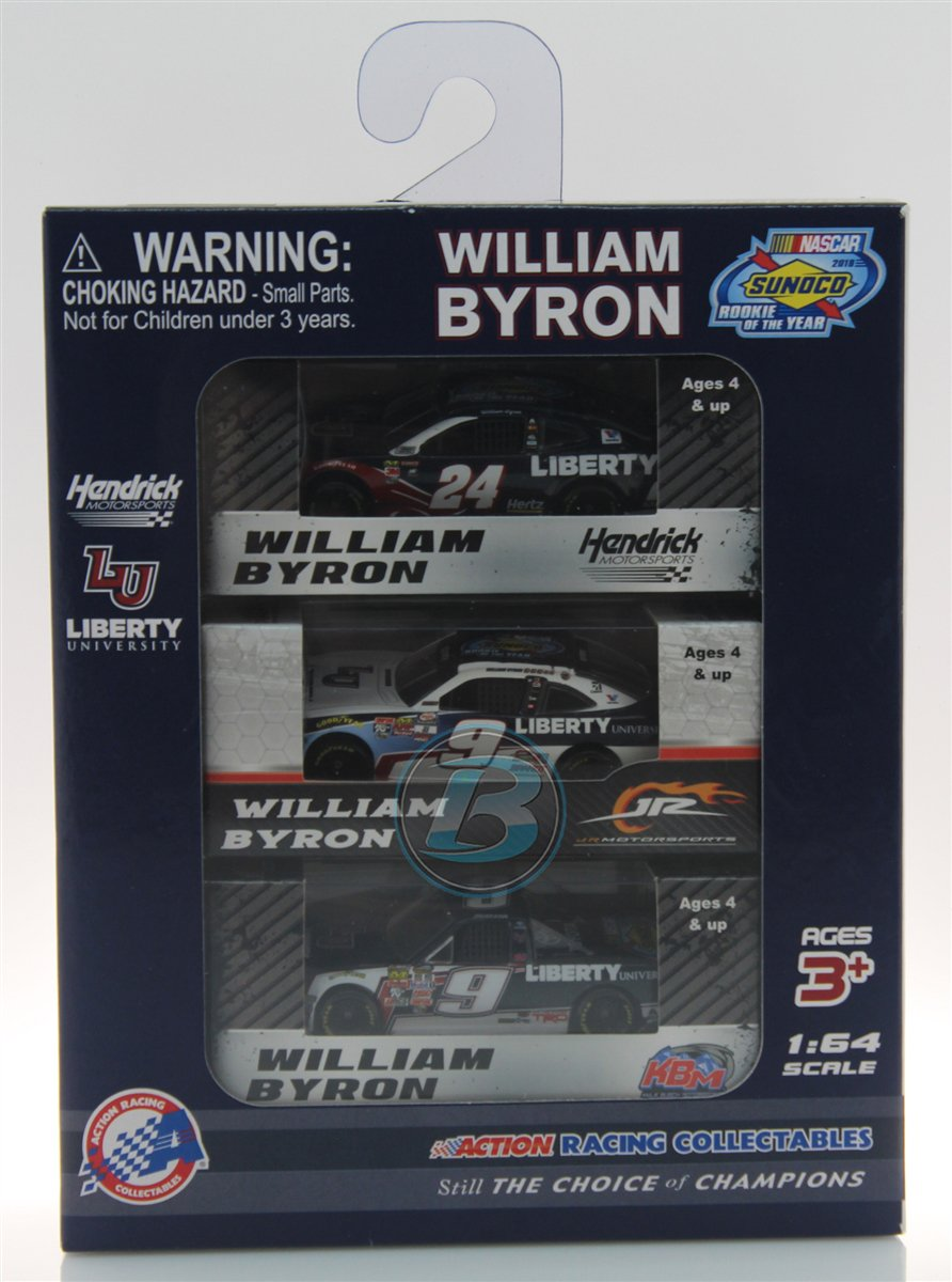 New Arrival: William Byron Liberty University Rookie of the Year 3 Car 1:64 Set  https://t.co/1FQbr5aShD https://t.co/vrbTBgLZ5X