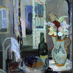 Image for the Tweet beginning: Tove Jansson (Finland 1914-2001) Still life