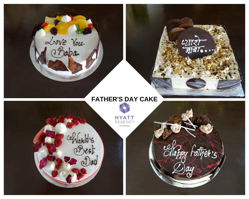 Delight dearest Daddy with our special cake offerings that are as special as he is.#FathersDayCake #HyattRegencyKathmandu #KathmanduBook Now >> 9801031236.
