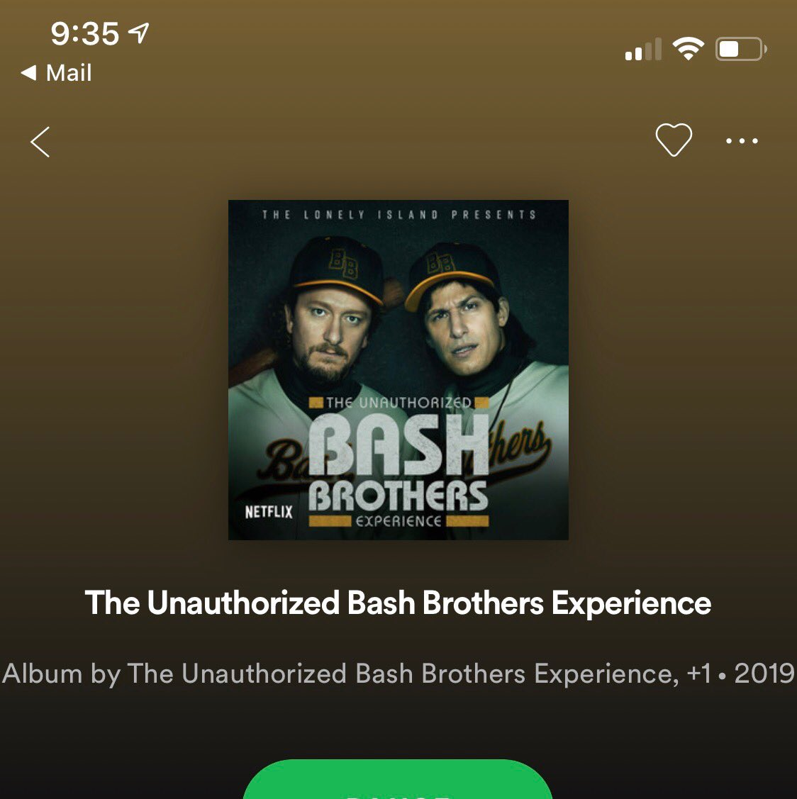 """The """"clean"""" version of Bash Brothers is available everywhere today.⚾️💪🏼🏟"""