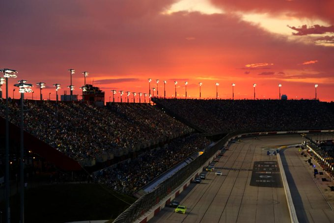 Reply with the best sunset you've ever seen at a track!