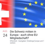 "Image for the Tweet beginning: ""Die Schweiz mitten in Europa"