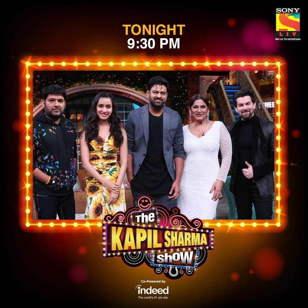 The Kapil Sharma Show hosts the cast of #Sahoo this weekend