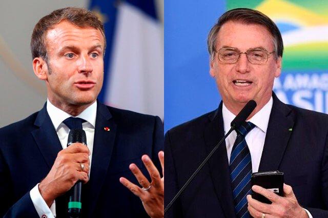 Macron acusa a Bolsonaro de mentir sobre sus compromisos con el medio ambiente >>> https://buff.ly/2P8XJW4