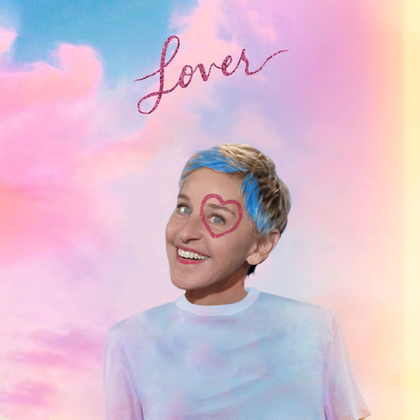 @TheEllenShow's photo on #LoverOutNow