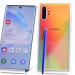 Image for the Tweet beginning: Samsung Galaxy Note10 arrives, officially