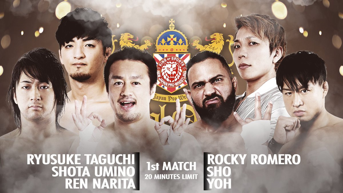 Just eight days away from #NJPWRoyalQuest!  NJPW's co-head coaches do battle in the first match of the night!   Rocky Romero leads former champions Roppongi 3K to take on Ryusuke Taguchi and his tandem of hungry Young Lions!  EXCLUSIVELY LIVE ON @FiteTV!  http:// ow.ly/q2hu50vE2pF     <br>http://pic.twitter.com/bKf0k7lkUT