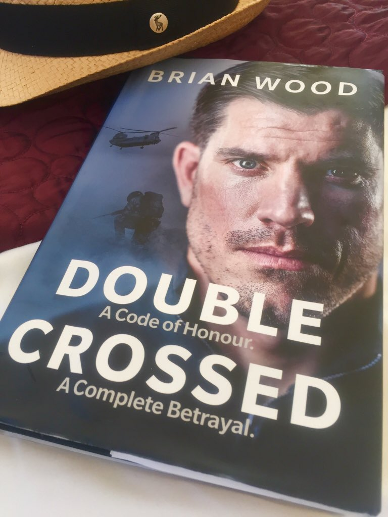 So, given this on Fathers Day by my girls. Waited until our summer holiday to read. Outstanding and inspirational @BrianWoodMC thank you.