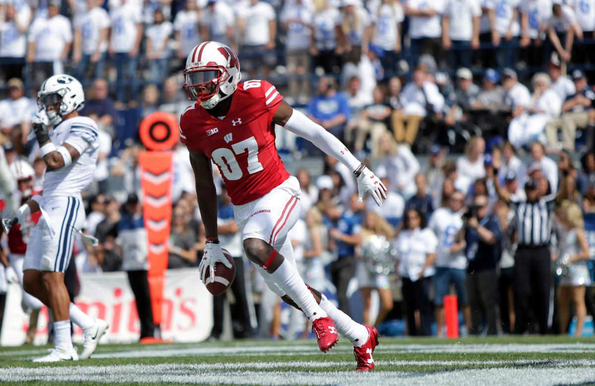 NCAA clears receiver Quintez Cephus to play again for Wisconsin
