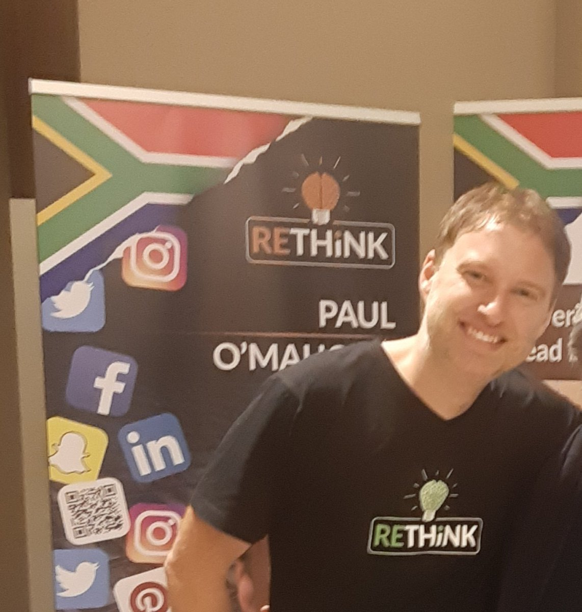#fbkmillionaires  WOW what a full day...completed Day 1 of 3 days with Paul O'Mahony's Rethink workshop. @paulomahony I love his Irish wit...besides learning huge amounts today, he had us laughing alot. What an Awesome day.  #rethinkandgrowrich <br>http://pic.twitter.com/LTVFD5ftpH