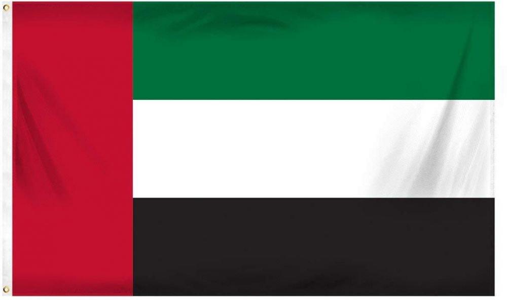 UAE National Day Flag, 3x8 Mtr, Polyester Fabric  470.00 EGP   https://souq.link/31Ze8Oi  #UAE #uaesalon #UAEdeals #uaeliving #الإمارات #علم_الإمارات #uaeresorts #uaemodel #uaepeace #دام_عزك_ياوطن #uaeonly #uaeu #uae_flag #UAE_National_Day_Flag #بلاد_العز #أولاد_زايد #زايد_الخيرpic.twitter.com/60q8RmBLWA