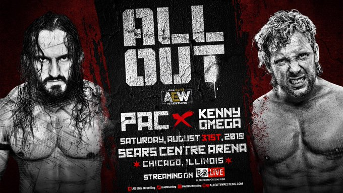 PAC To Replace Jon Moxley At AEW All Out, Updated Card