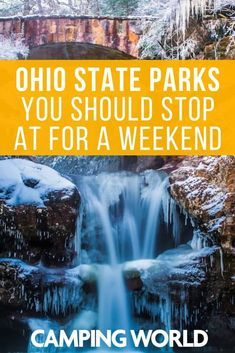 While an Ohio state park might not be the first thing you think of when you think an epic weekend adventure, you'll likely be surprised by what the following parks have in store. Here are some Ohio state parks you should stop at for a weekend. #ohio #sta… https://t.co/MtGPb9LASL https://t.co/wuuXX6AJpr