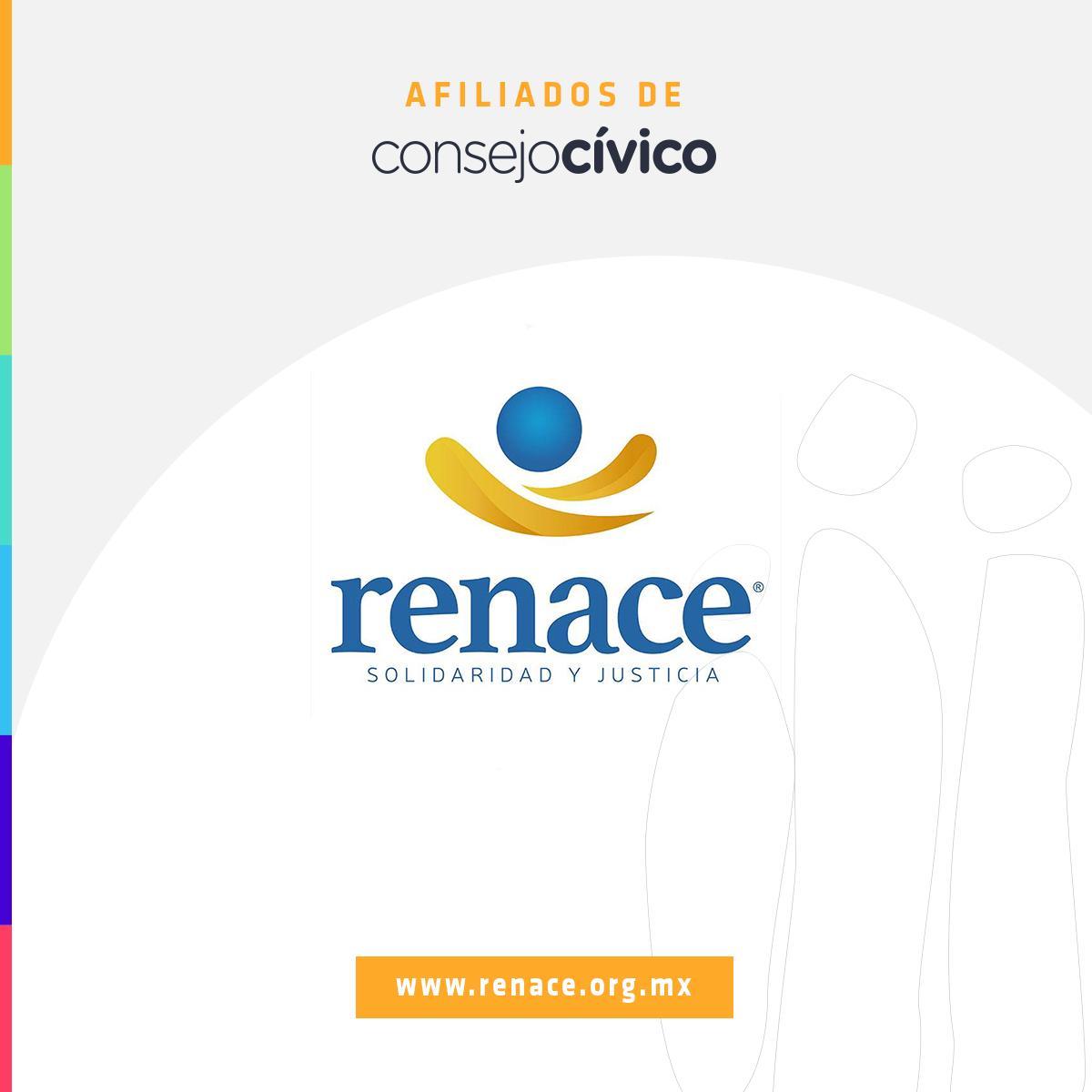 Renace trabaja por la mejora continua de la justicia penal en México, para garantizar el respeto a los derechos de víctimas y acusados, brindando asesoramiento jurídico y defensa legal a personas de escasos recursos. Conoce más de su labor en renace.org.mx @RENACE_ABP
