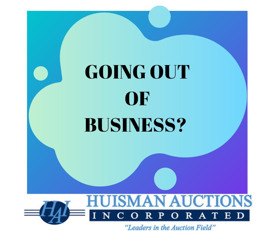 Liquidating business assets