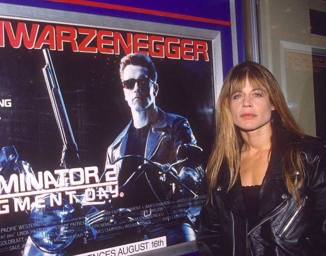 Linda, you are a badass! Cant wait for #TerminatorDarkFate! @Terminator