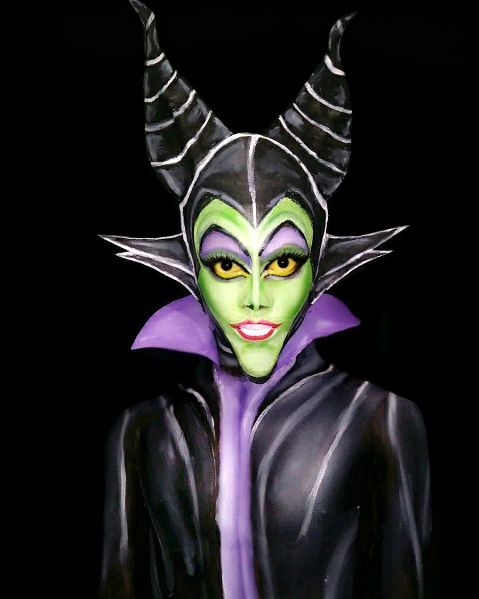 Another Shot Of My Maleficent Makeup Look Disney