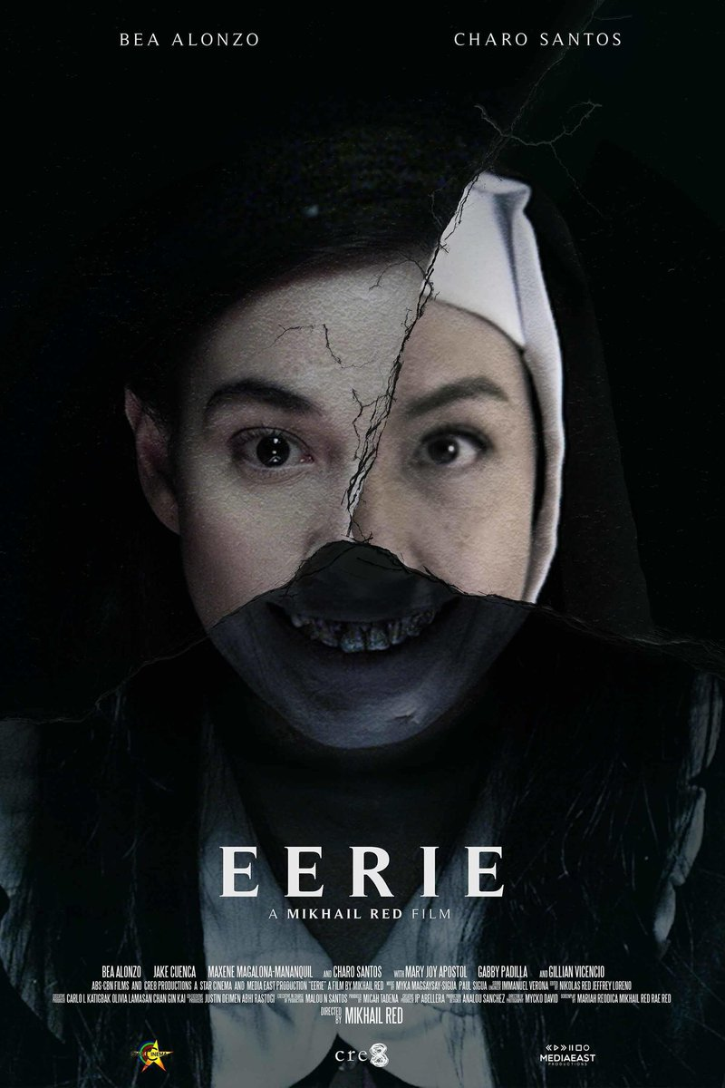 just watched eerie on netflix and now i don't know if i can sleep tonight #eerie