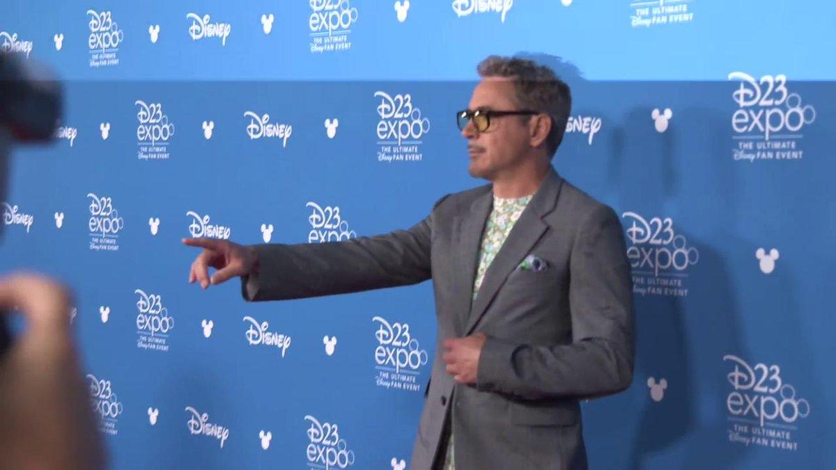 RT @Variety: Robert Downey Jr. walks the #D23Expo carpet ahead of the Disney Legends ceremony https://t.co/xBoIBJBKXD