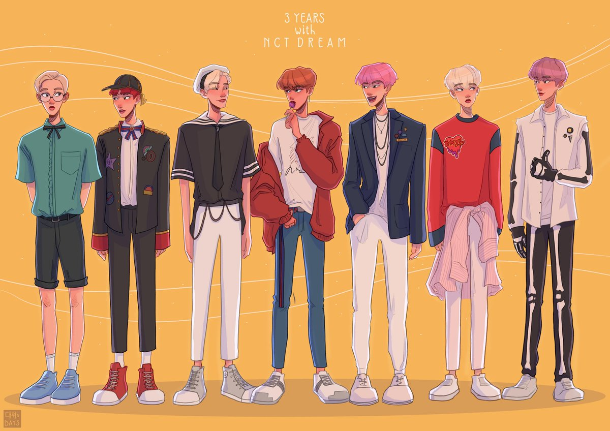 I am eternally grateful to these boys and the happiness they've given me over these three years,, thank you dream#3YearsWithNCTDREAM #NCTFanart<br>http://pic.twitter.com/1K1AqDwKz7