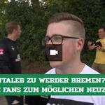 Image for the Tweet beginning: Wir haben die #Werder-Fans zum