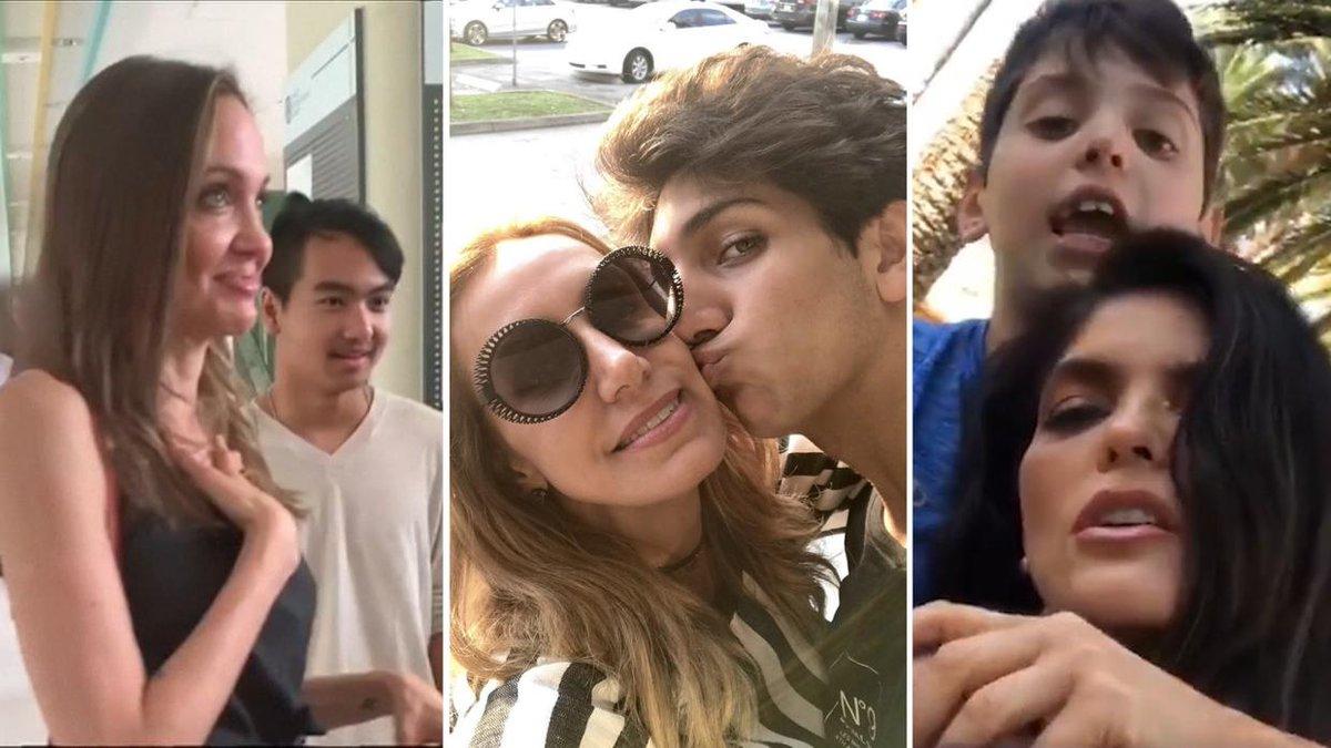 #AngelinaJolie ya sabe la tristeza que sintieron @LiliEstefan y @anabarbaramusic al ver partir un hijo de casa. uni.vi/5nic30pphER