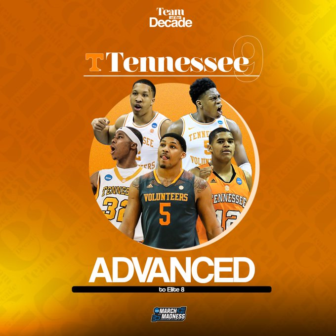 The first 2 teams advancing to the #MMToD Elite 8...  @Vol_Hoops over Ohio State @MSU_Basketball over Michigan