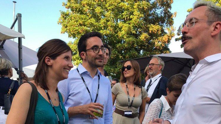 Le #FFA2019 se poursuit, toujours avec le même succès critique et populaire à Angoulême. Heureux d'accueillir ici une nouvelle fois ma collègue et amie @auroreberge particulièrement impliquée pour l'audiovisuel, la culture et les territoires.