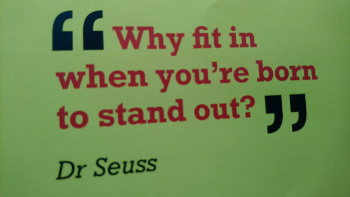 Saw this today and loved it! Lets stand out!