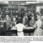 #FlashBackFriday to a 1962 public bid opening in one of GSA's business service centers. Now you can find and bid on federal business opportunities online: https://t.co/bagLp9DG30 #SmallBiz #GovCon @SBAgov