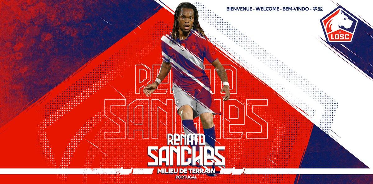 Lille s'offre Renato Sanches pour 25 millions (Officiel)