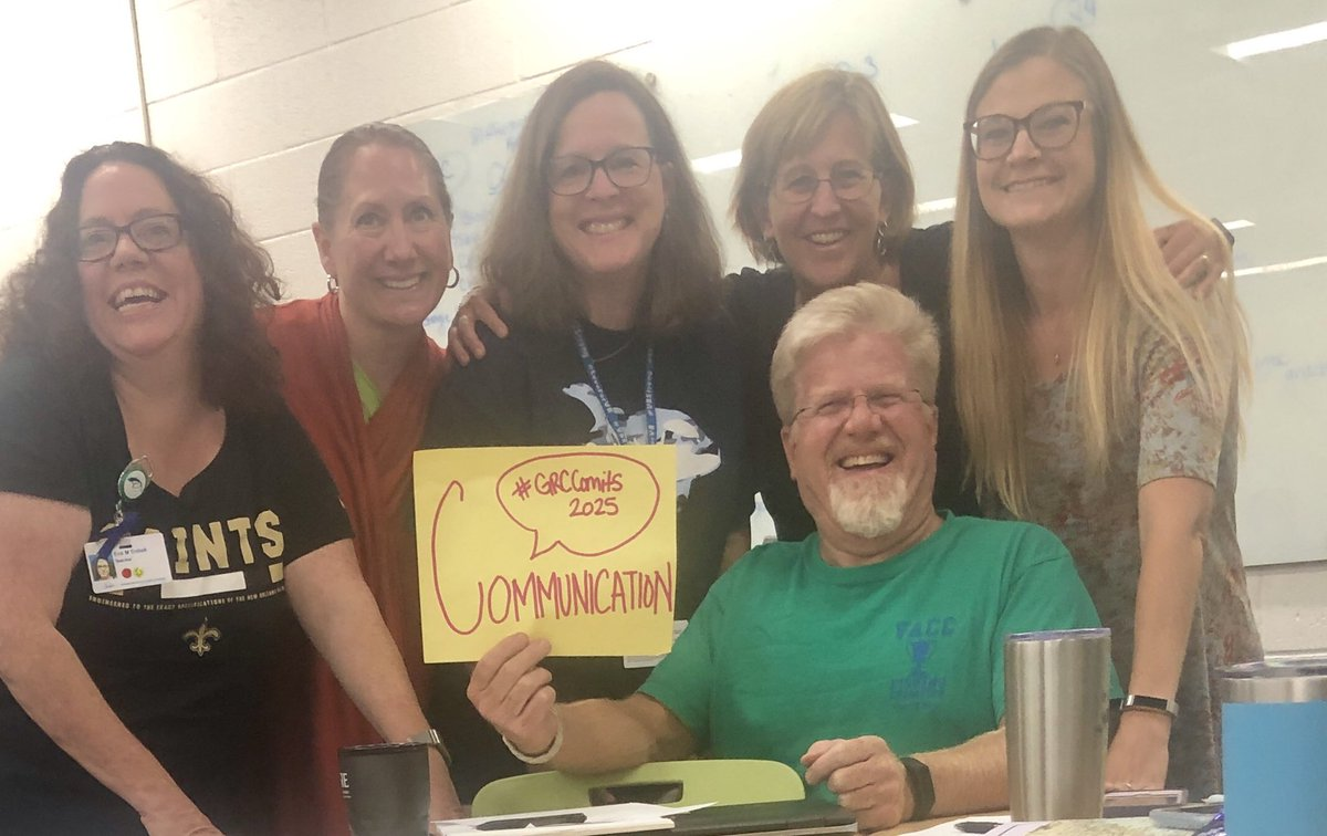 @grcollegiate Social Studies team is committed to promoting communication within our content group and in our classrooms! #GRCCommits2020 @EichnerSusan @debrawarunek @CaitieBucholz @oldhickorygrc #vbschools