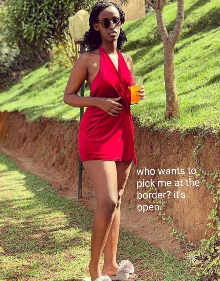 When Rwanda opens the border. This is what happens. Turbo's needed<br>http://pic.twitter.com/Pd5FJ1tAAh