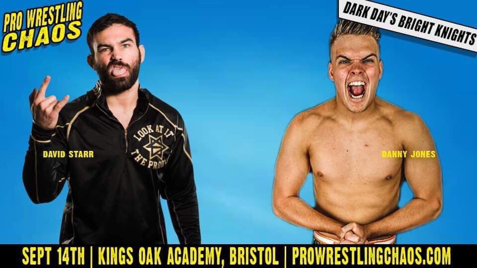 No words needed really.......You're welcome @chaos_wrestling fans.