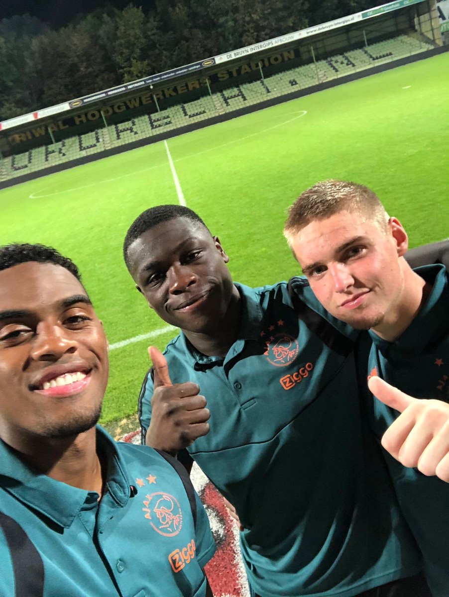 test Twitter Media - Ajax players since 2010. #ForTheFuture. ✨  17 y/o ✖️ Ryan Gravenberch 17 y/o ✖️ Brian Brobbey 17 y/o ✖️ Kenneth Taylor  #JongAjax #dorjaj https://t.co/RPuv2RuJLI