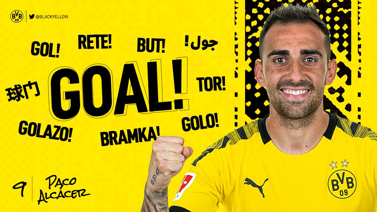90+5 | Goal! Tor! Gol! Bramka!  Paco doing what he does best!  #KOEBVB 1-3<br>http://pic.twitter.com/X2c1iFvD5w
