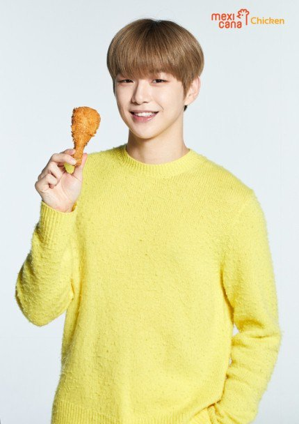 Kang Daniel signs an advertising contract with Mexicana Chicken  https://www. allkpop.com/article/2019/0 8/kang-daniel-signs-an-advertising-contract-with-mexicana-chicken  … <br>http://pic.twitter.com/FlI52ari1m