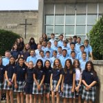 Image for the Tweet beginning: Here's our new 7th graders
