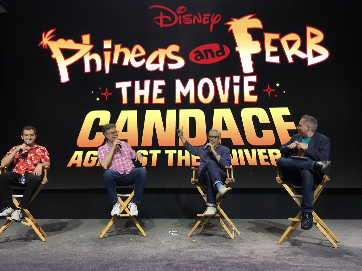 "BIG NEWS - ""Phineas and Ferb"" will have a new movie coming to #disneyplus as announced at #D23Expo<br>http://pic.twitter.com/DPx5Nsj2mO"