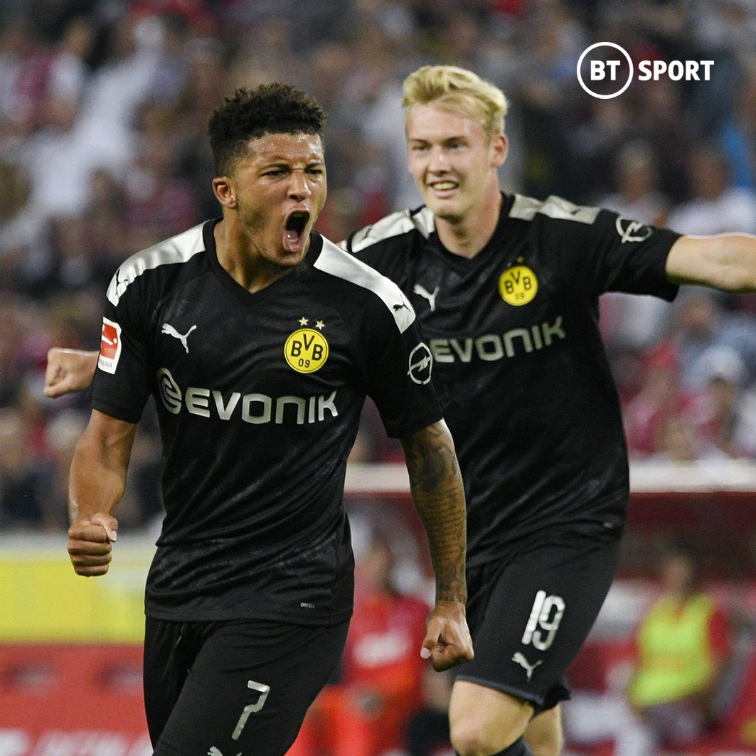Jadon Sancho in the Bundesliga this season...  Games:  Goals:  Assists:  Wins:   P̶o̶t̶e̶n̶t̶i̶a̶l̶  Superstar  <br>http://pic.twitter.com/Z7UXrIm3Lc