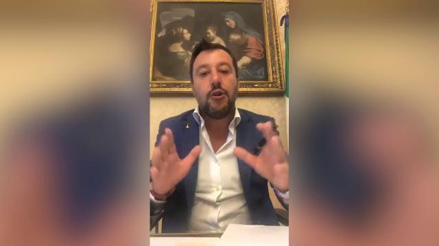 Incontro M5s-Pd, Salvini: 'Farò di tutto per evit...