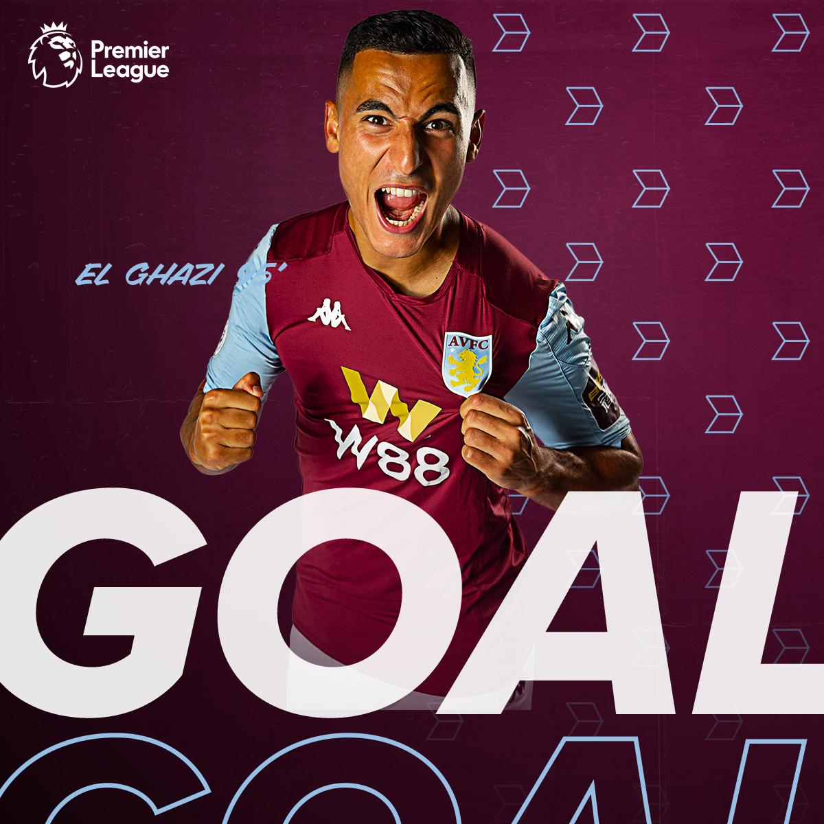 GOAL! GOAL! GOAL!  @AElGhazi7 with the second!    2-0   #PL #AVFC<br>http://pic.twitter.com/akHvBpRNoA