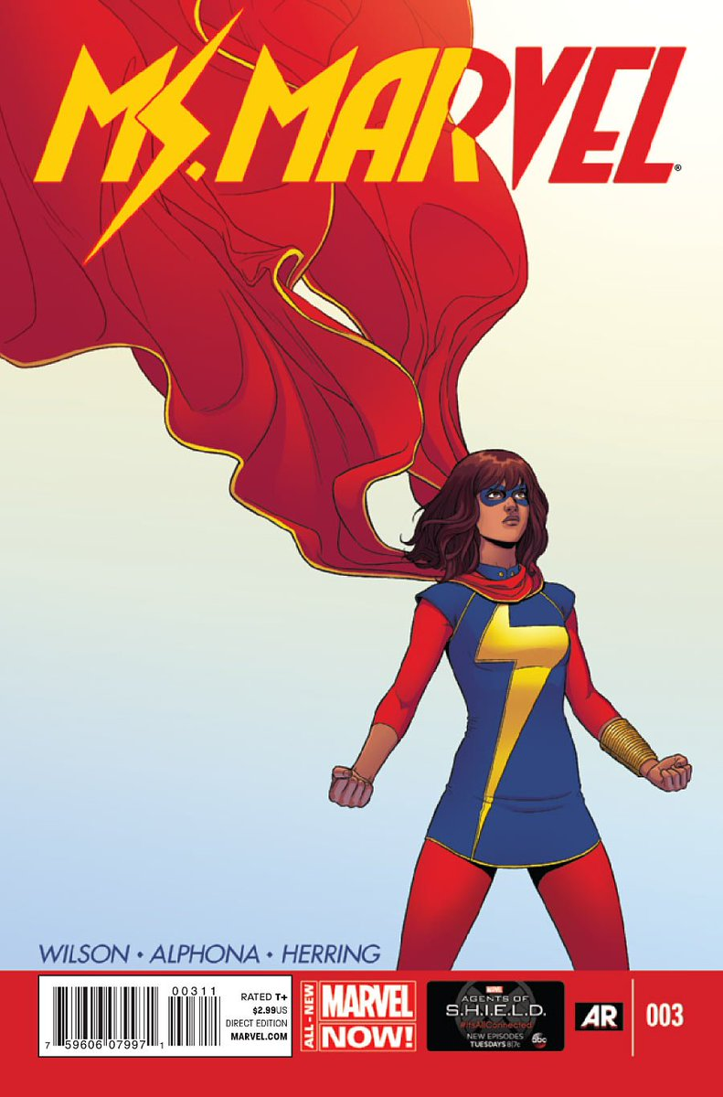Marvel Studios will develop a Ms. Marvel show for Disney+ that follows Kamala Khan, their first Muslim lead superhero, with writer and showrunner Bisha K. Ali at the helm  (via @THR |  http:// bit.ly/2KP5lZC     )<br>http://pic.twitter.com/UKsb7CiGtN