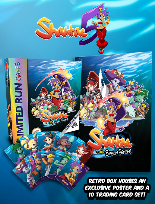 FLASH GIVEAWAY   Follow @LimitedRunGames & @WayForward, then like & RT this to be entered to win a PAX West exclusive Shantae and the Seven Sirens retro box, which includes an exclusive poster and trading card set. We'll pick a winner Monday at 11am ET. As always, GLHF! <br>http://pic.twitter.com/SK0lxba3bQ