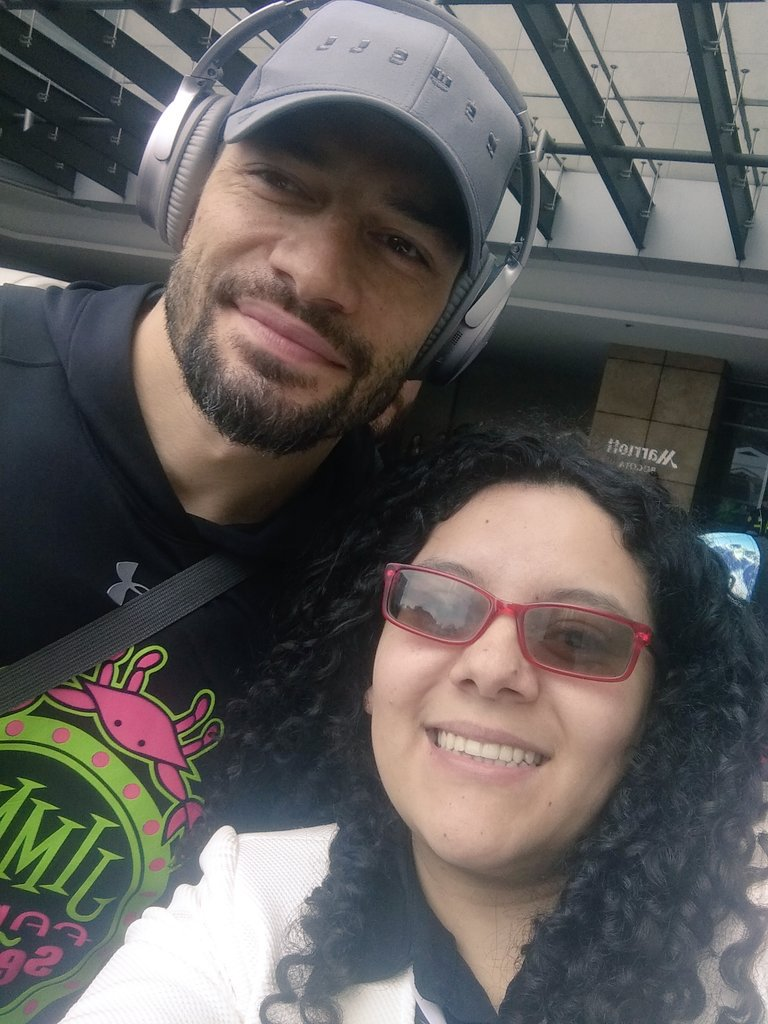 #WWELiveBogotá here with the Big dog @WWERomanReigns... Time is running out #dreamscancometrue<br>http://pic.twitter.com/ovmqWBFc5E