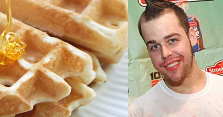 Food Fact: In 2007 Patrick Bertoletti set a new record for the most waffles eaten (29) in 10 minutes, beating out former champion Joey Chestnut 2006 record of 23 waffles. https://t.co/yft7WEaQC5