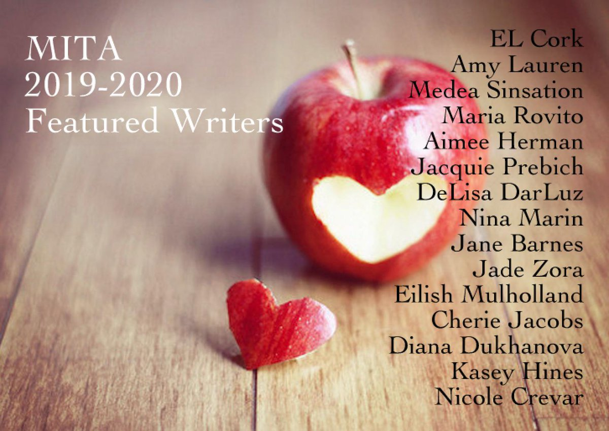 We are incredibly honored and grateful to have been able to showcase and build a community of writers for the past two years, and we are excited to announce the names of our featured writers for the coming year!  @maria_rovito @JwPrebich  #WritersCommunity<br>http://pic.twitter.com/wwbKpEOOGX